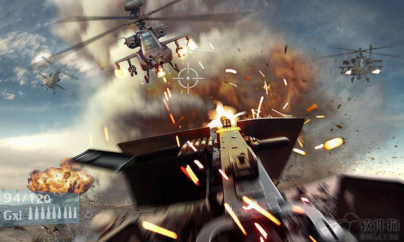 战地风暴枪战类手机游戏