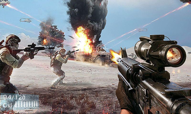 2020军事游戏战地风暴手游app
