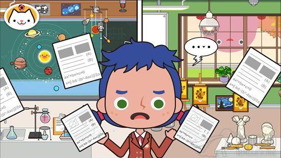 米加小镇学校官方中文版游戏